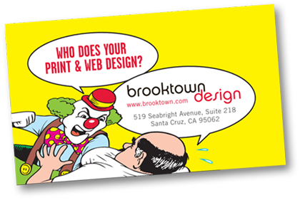 Brooktown Design Business Card