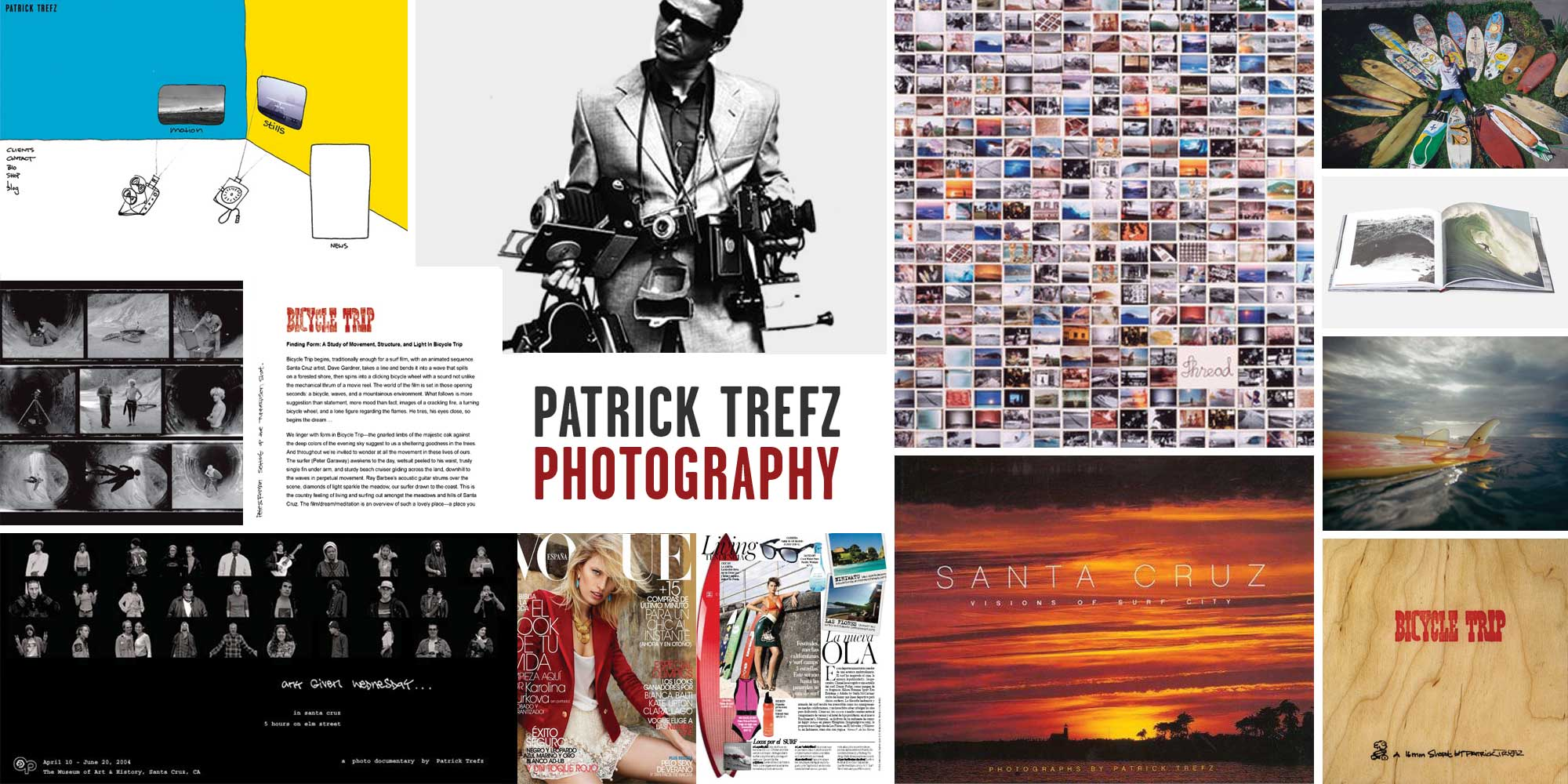 Patrick Trefz project collage