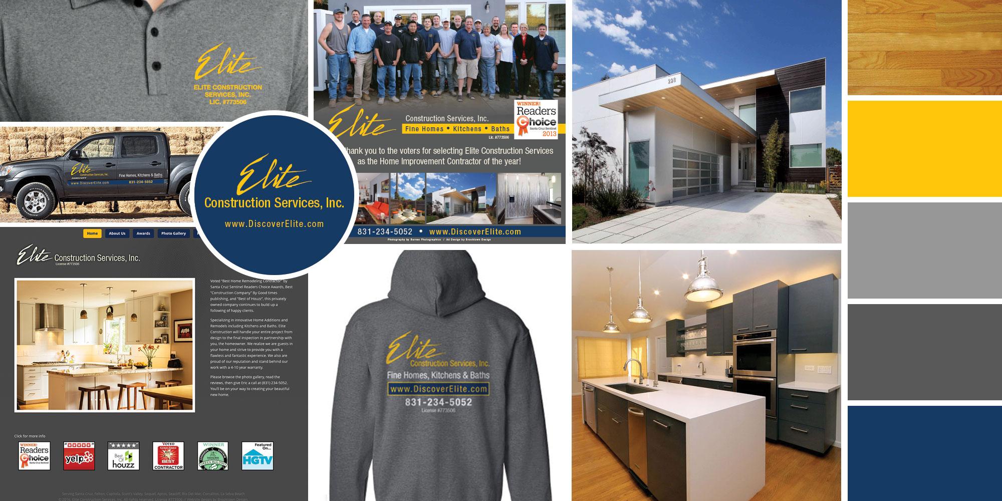Elite Construction project collage