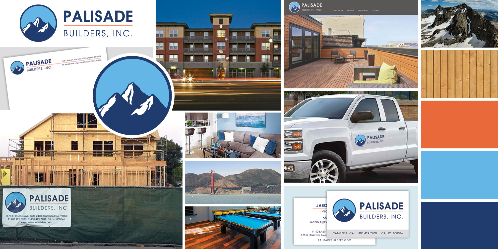Palisade Builders project collage